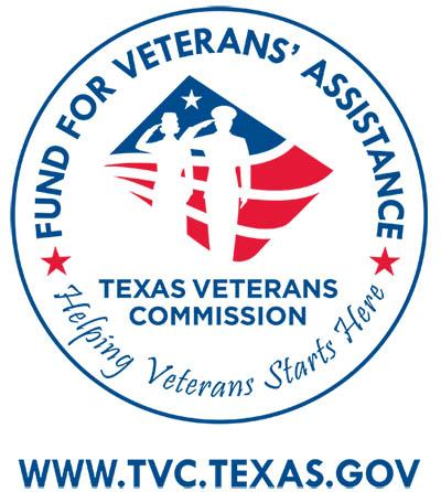 Fund for veterans' assistance Te as veterans commission logo