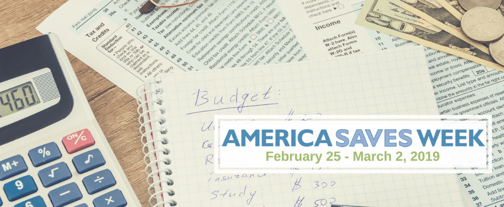 America Saves Week – Day 1: Save with a Plan