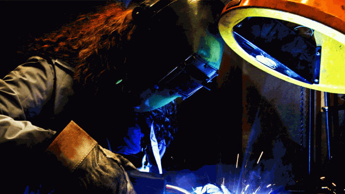 Women Turn to Welding for Financial Spark