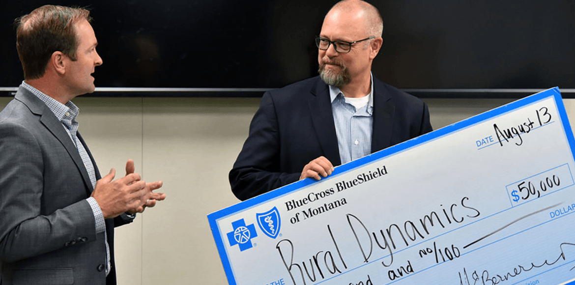 Blue Cross and Blue Shield of Montana Awards Rural Dynamics $50,000 Grant