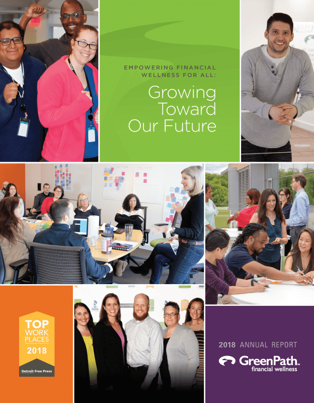 Greenpath Annual Report Cover Image