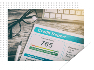 Credit Report Rectangle@ .