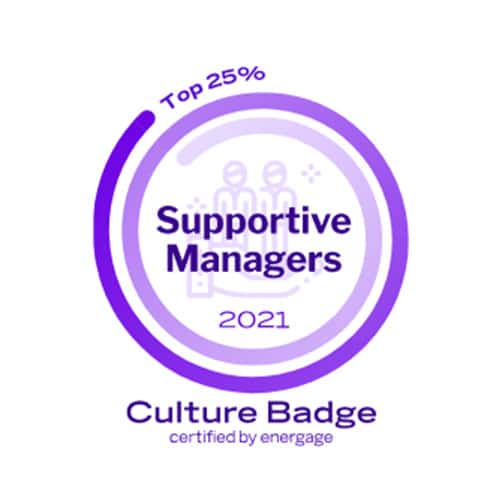 Career Badges Culture Supportive Managers