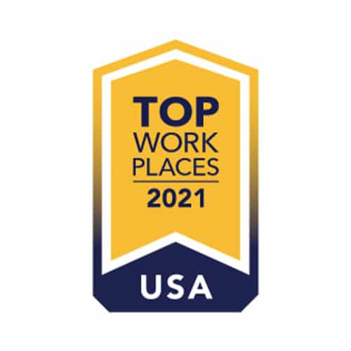 Career Badges Top Work Places USA