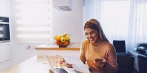 Woman Planning Financial